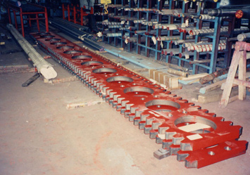 Amera-Braze gear rack